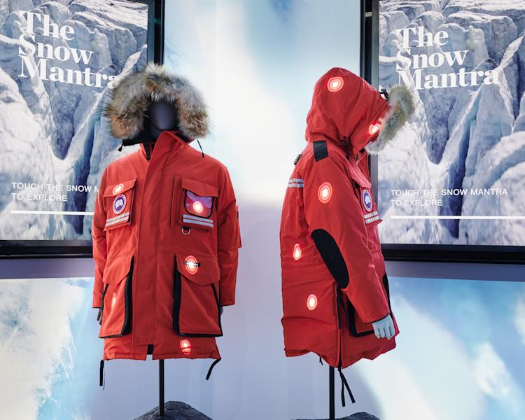 Canada Goose has unveiled a new concept store, which it is calling The Journey.