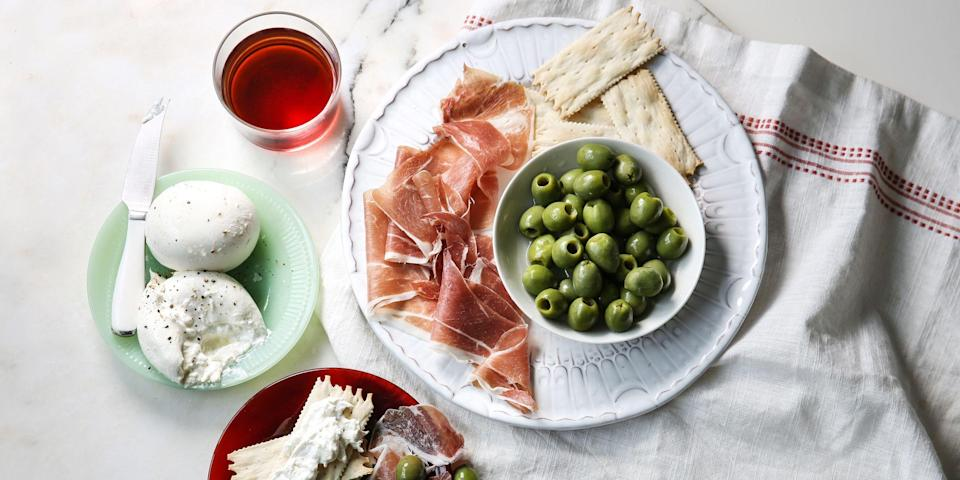 """<p>Let's be real: We've probably <em>all</em> received our share of lame fruit baskets or less-than-thrilling snack assortments over the years. To up the ante when it comes to <a href=""""https://www.bestproducts.com/eats/food/g845/food-subscription-boxes/"""" rel=""""nofollow noopener"""" target=""""_blank"""" data-ylk=""""slk:gifting your darling foodie friend"""" class=""""link rapid-noclick-resp"""">gifting your darling foodie friend</a> for any occasion, we've scoured the internet to find the most creative and delicious curated food gift baskets and limited-edition bundles that are guaranteed to impress. The best part? All you have to do is to add to cart. These treats will be delivered straight to that lucky recipient's front door.</p><p>From artisanal charcuterie to an assortment made for the ultimate truffle lover, we handpicked these gourmet food gift baskets to make any occasion extra delicious.<br></p>"""