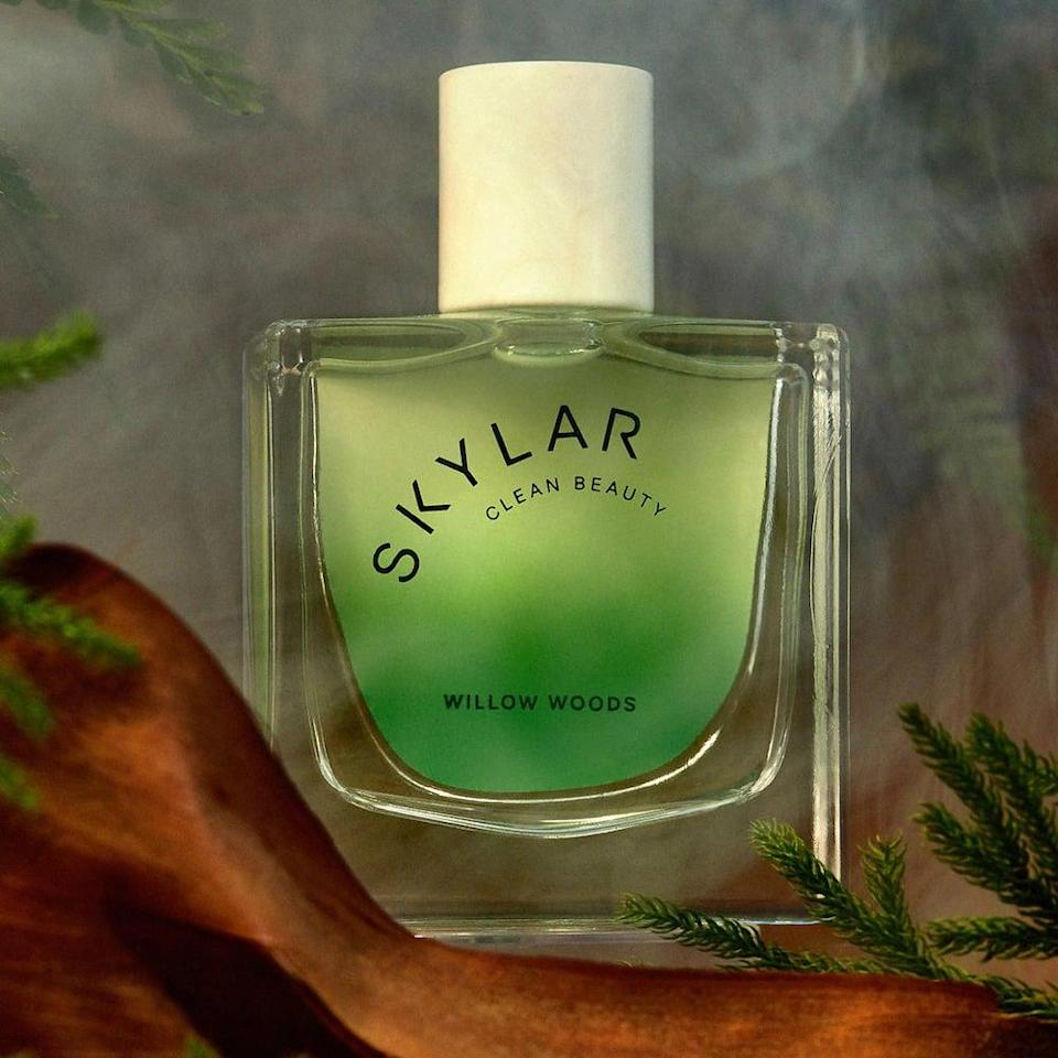 <p>Refresh your scent for the fall with something earthy and woody like the <span>Skylar Willow Woods Eau De Parfum</span> ($85). It has notes of willow, pine, and heliotrope for a refreshingly woodsy scent. </p>