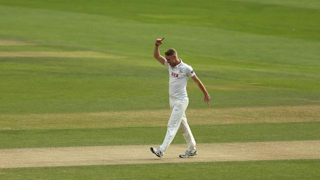 Jamie Porter claimed nine wickets in the victory.