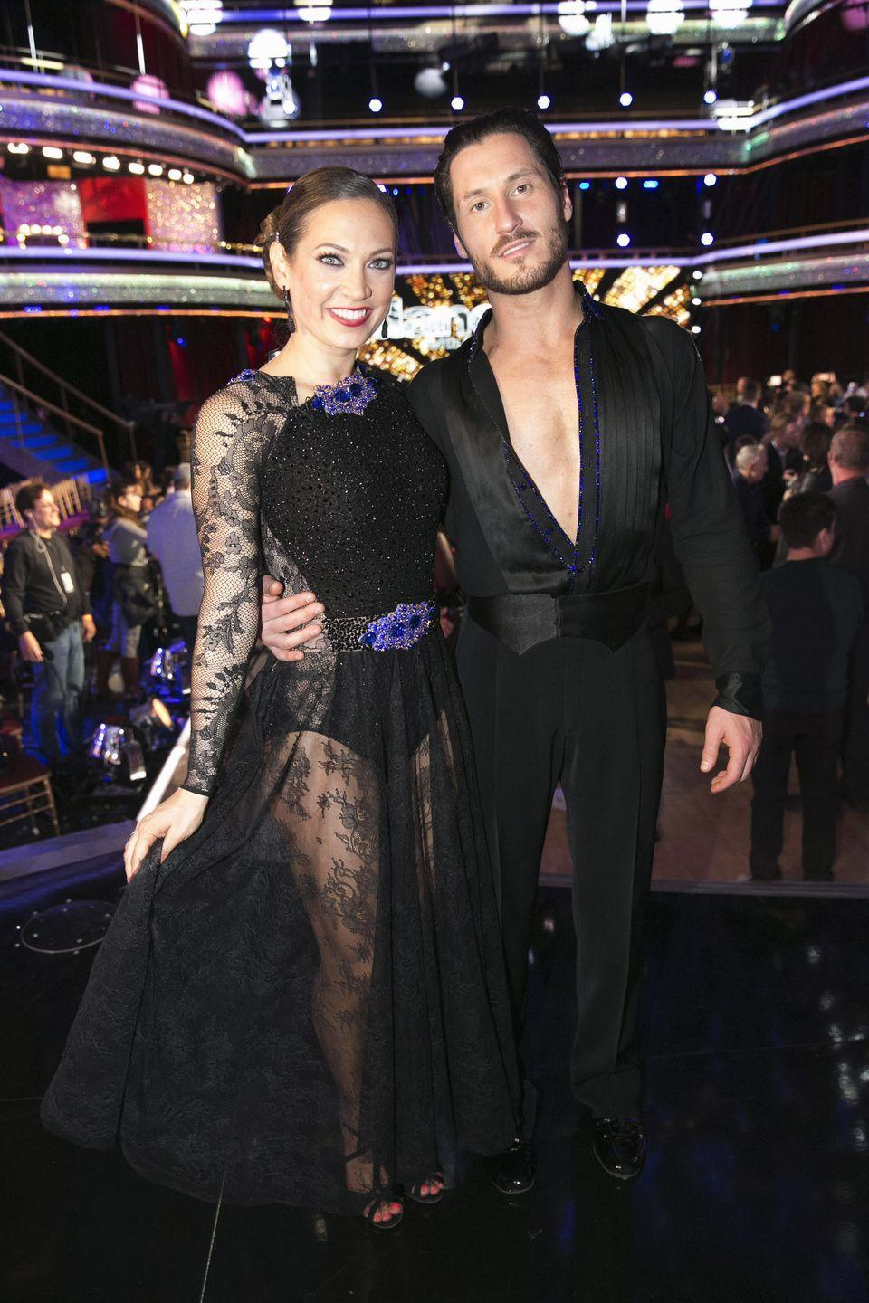 "<p>The <em>Today</em> meteorologist suffered a pelvis injury and back spasms right before the season finale of <em>DWTS </em>season 22, <em><a href=""https://people.com/tv/dancing-with-the-stars-injury-ginger-zees-future-in-finals-uncertain/"" rel=""nofollow noopener"" target=""_blank"" data-ylk=""slk:People"" class=""link rapid-noclick-resp"">People</a></em> reported. </p><p>""Right now she can't dance at 100 percent and [troupe member] Jenna Johnson is standing in for her during camera blocking today,"" a source told the publication. ""She won't know until tomorrow if she can do the dances. Ginger is seeing the show's physical therapist and is resting so that hopefully she will be able to dance tomorrow night."" Ginger was still able to perform with her pro partner Val Chmerkovskiy. </p>"