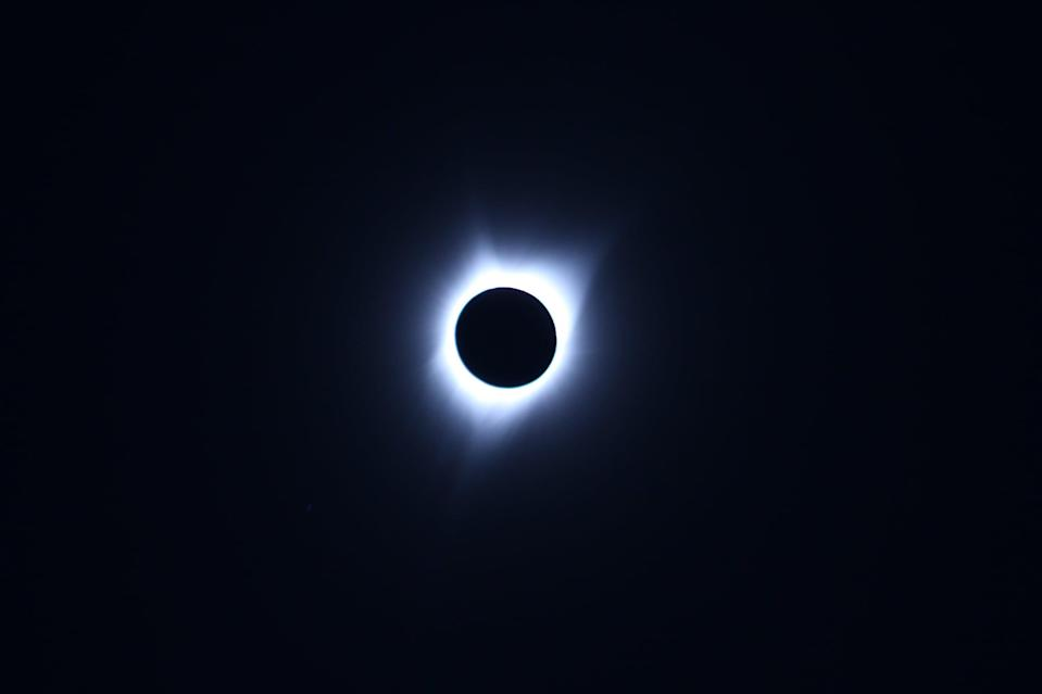<p>Ending the year with a bang, the total solar eclipse on Dec. 4 will be a completely cosmic occurrence. The moon will completely block the sun for up to one minute and 54 seconds during this eclipse, revealing the sun's corona. The bad news? This eclipse will only be visible for people in Antarctica, but you should be able to watch via live stream when it happens.</p>