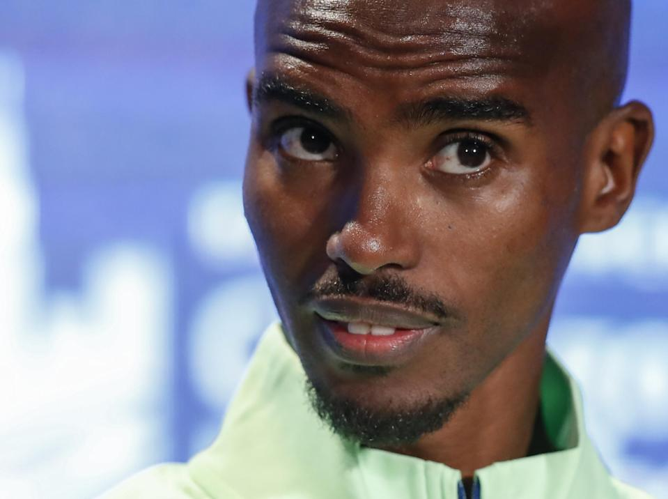 Mo Farah has stepped up his criticism of former coach Alberto Salazar (Getty)