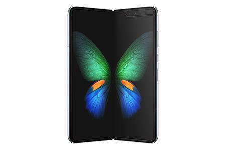 Samsung's new Galaxy Fold smart phone which features the world's first 7.3-inch Infinity Flex Display that works with the next-generation 5G networks is seen in this image released in San Francisco, California, U.S. February 20, 2019.   Courtesy Samsung/Handout via REUTERS