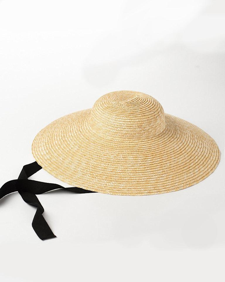 """$49.99, Etsy. <a href=""""https://www.etsy.com/listing/617677649/new-style-straw-hat-retro-straw-hat?ga_order=most_relevant&ga_search_type=all&ga_view_type=gallery&ga_search_query=straw+hat&ref=sr_gallery-1-14&organic_search_click=1&col=1"""">Get it now!</a>"""