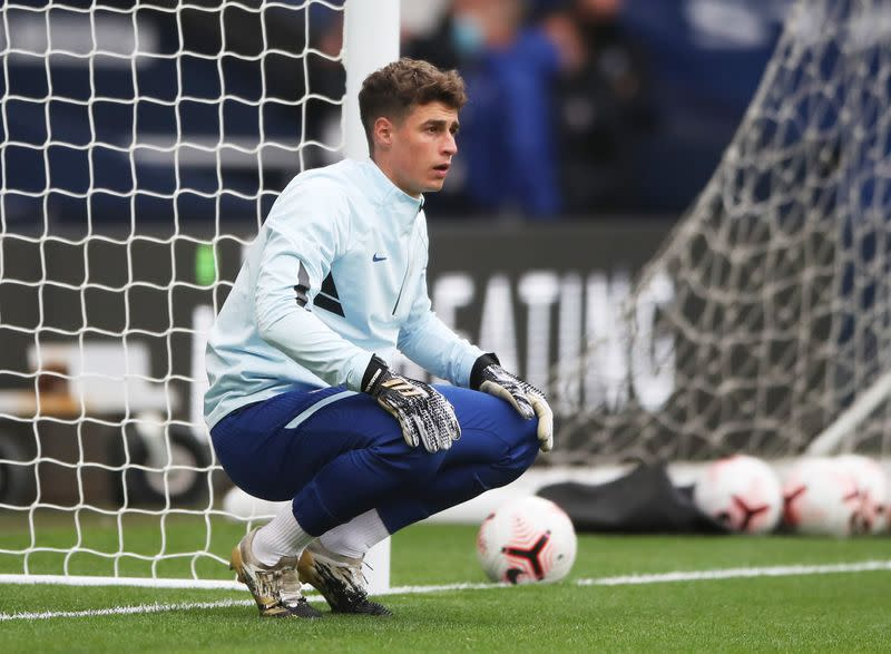 Time to see what Kepa is made of, says Spain coach