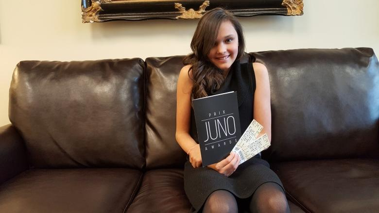 New Ottawa charity sends talented 11-year-old to Junos
