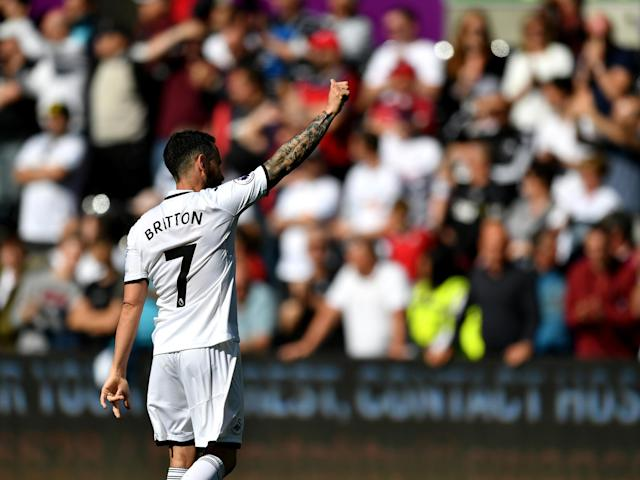 Leon Britton wants Swansea to rediscover their philosophy in the Championship - even if it takes four years to return
