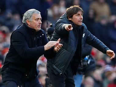Manchester United manager Jose Mourinho believes it was important for two coaches of his and Chelsea's Antonio Conte's stature to put their public dispute behind them by shaking hands before and after United's 2-1 victory on Sunday.