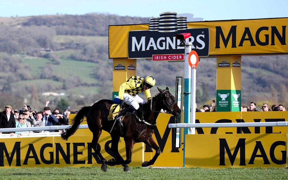Al Boum Photo joined an elite group of horses to win two Cheltenham Gold Cups last year - PA
