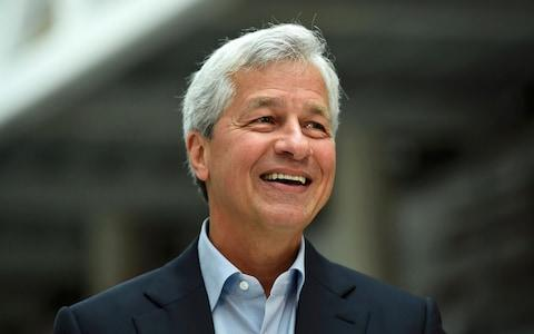 JP Morgan chief executive Jamie Dimon - Credit: REUTERS/Dylan Martinez