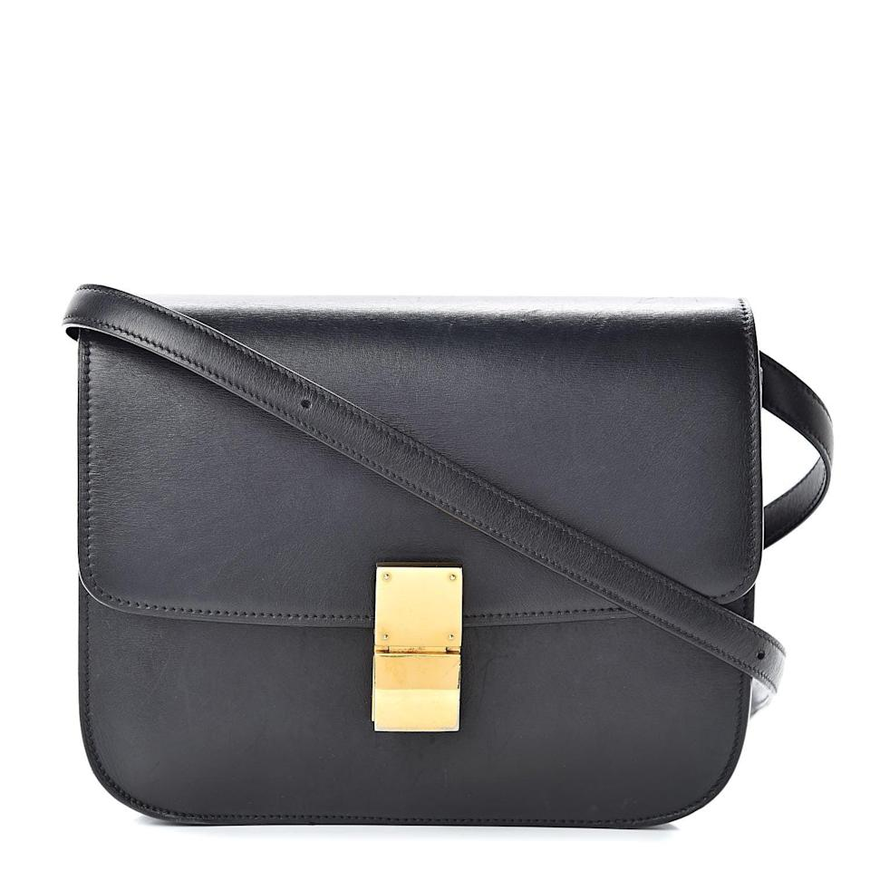 """<p>""""With an emphasis on sustainability and classic pieces I'll wear and rewear, I'm investing in forever finds. This <span>Celine Box Calfskin Medium Classic Box Flap Black</span> ($1,750) has been on my wish list for the better part of a decade, and I find I'm throwing it on every single time I leave the house. I know I will for years to come.""""</p>"""