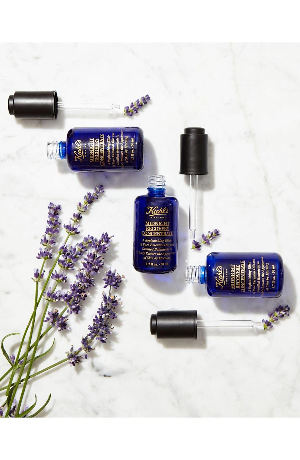 <p><span>Kiehl's Midnight Recovery Concentrate Face Oil</span> ($84, originally $125)</p>