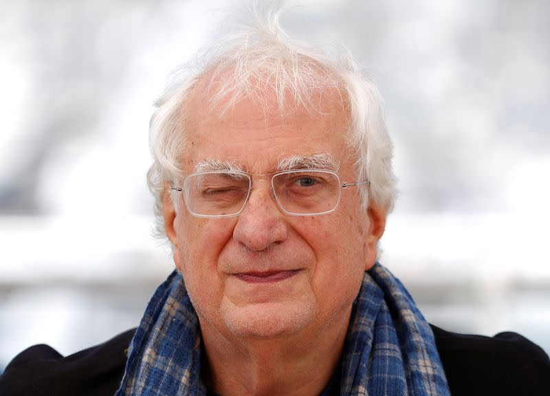 "FILE PHOTO: Director Bertrand Tavernier poses during a photocall for the film ""Voyage a travers le cinema Francais"" out of competition at the 69th Cannes Film Festival in Cannes"