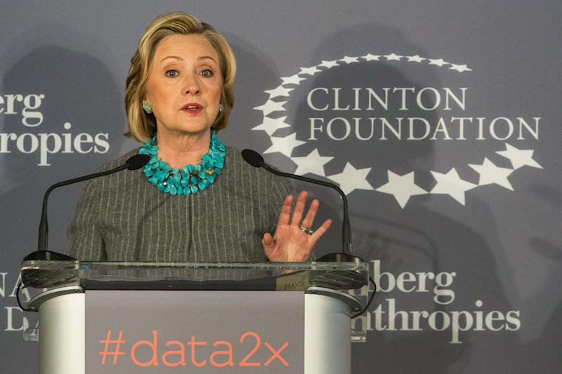 Harvey Weinstein's Clinton Foundation Donations Won't Be Returned