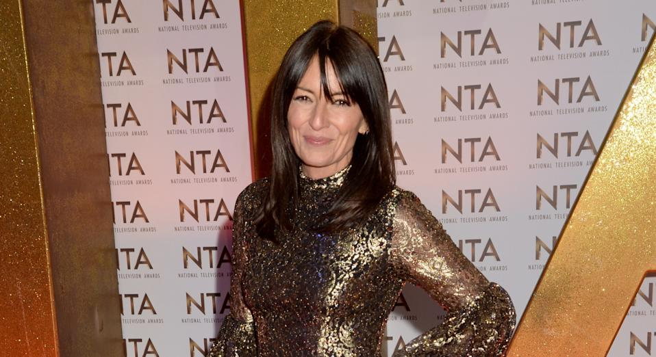 Davina McCall was body-shamed for her outfit on The Masked Singer last weekend. (Getty Images)