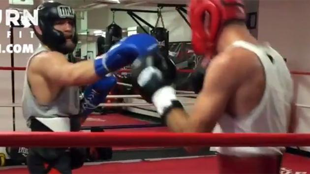 Unedited Conor McGregor boxing footage he doesn't want you to see