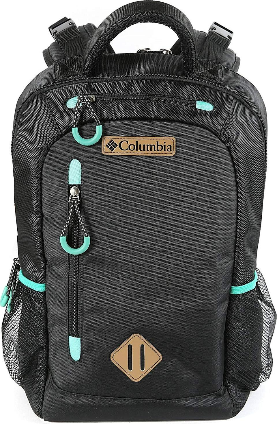 <p>People love the <span>Columbia Summit Rush Backpack Diaper Bag</span> ($45, originally $50) because it looks like an ordinary backpack.</p>