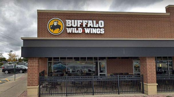 PHOTO: A Buffalo Wild Wings restaurant in Naperville, Ill., is pictured in a Google Maps Street View image dated October 2018. (Google Maps Street View image)