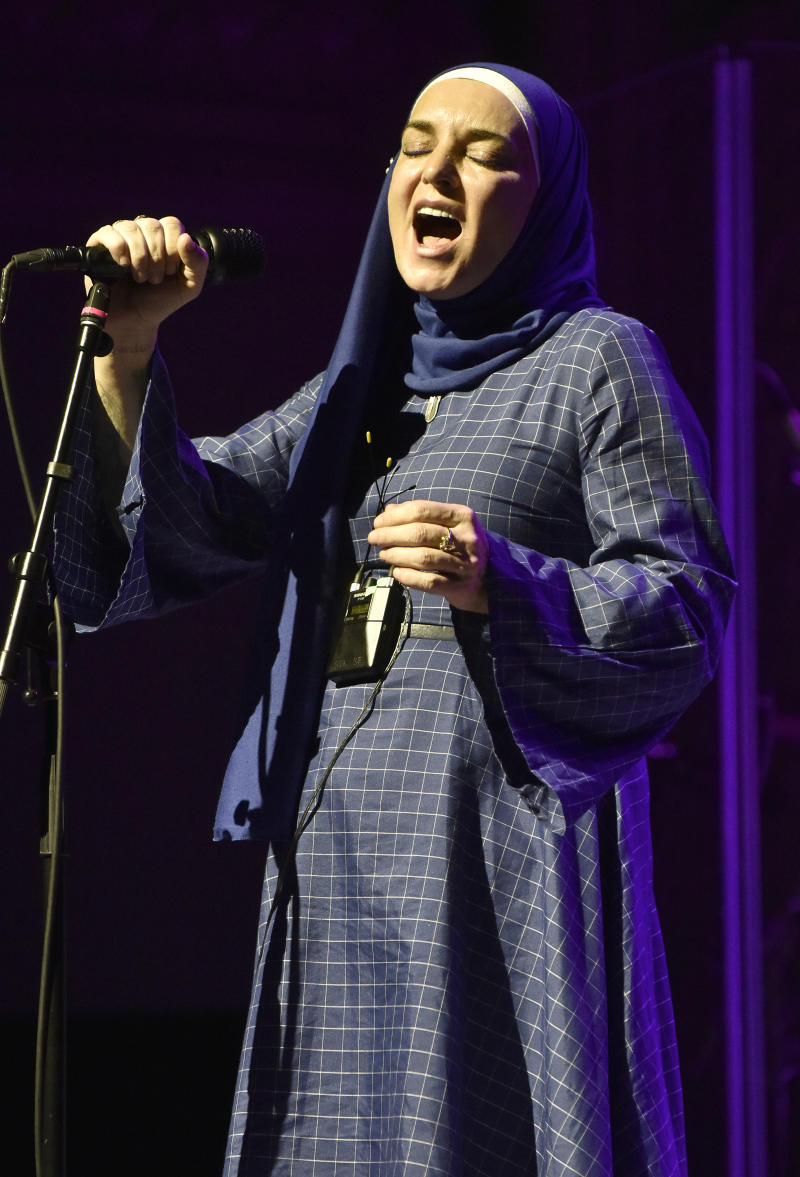 Sinead O'Connor performs at August Hall on February 07, 2020 in San Francisco, California. (Photo by Tim Mosenfelder/Getty Images)