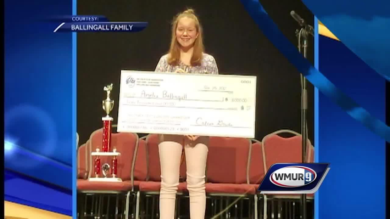 Local 8th grader to represent NH at National Spelling Bee.