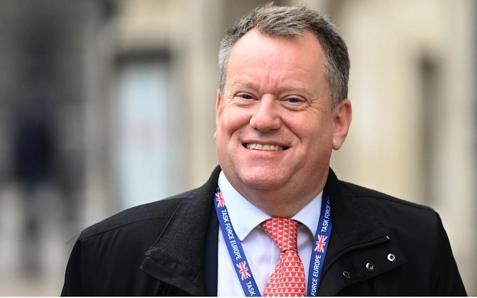 The former Brexit negotiator was promoted to Cabinet minister by Boris Johnson. - Shutterstock