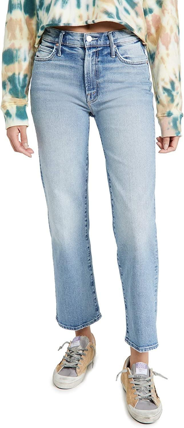 <p><span>Mother Superior The Kick It Ankle Jeans</span> ($228, originally $268)</p>