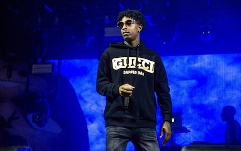 21 Savage was born in the UK - Credit: AP