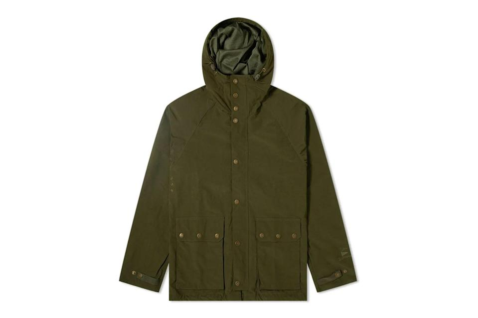 "$375, END.. <a href=""https://www.endclothing.com/us/barbour-renlow-casual-jacket-mca0640sg71.html"" rel=""nofollow noopener"" target=""_blank"" data-ylk=""slk:Get it now!"" class=""link rapid-noclick-resp"">Get it now!</a>"