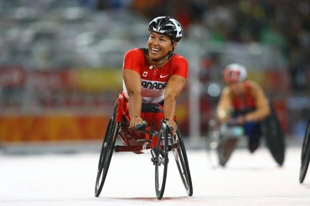 Chantal Petitclerc, who won 14 Paralympic gold medals, is the first of 14 athletes profiled in the series Beyond the Win. (Getty Images - image credit)