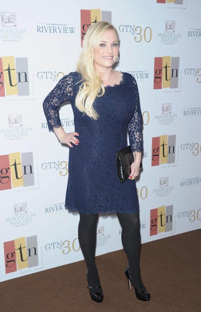 NEW YORK, NY - MAY 02: Author Meghan McCain attends the Greater Talent Network 30th anniversary party at the United Nations on May 2, 2012 in New York City. (Photo by Michael Loccisano/Getty Images)