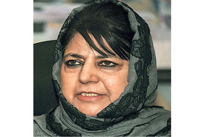 Mehbooba, along with a majority of the party's leadership, has been under detention since August 5, when the Centre moved to scrap J&K's special status, and has not met any party members since.