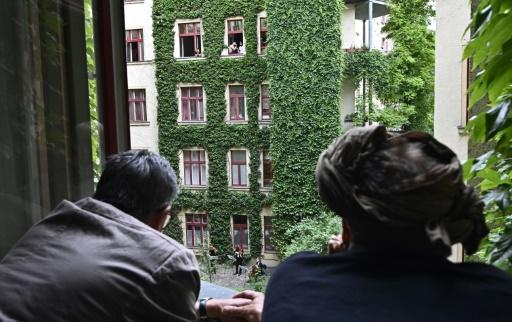 Window seats for a courtyard concert as arts groups think creatively about how to get back to live performances
