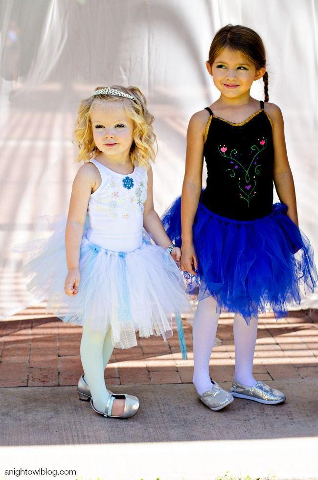"""<p>If your home is ruled by princesses in training, Halloween is the perfect time to let them live out their dreams. These Anna and Elsa costumes are easy to DIY and regular fan favorites. </p><p><em><a href=""""https://www.anightowlblog.com/diy-frozen-halloween-costumes/"""" rel=""""nofollow noopener"""" target=""""_blank"""" data-ylk=""""slk:Get the tutorial at A Night Owl Blog »"""" class=""""link rapid-noclick-resp"""">Get the tutorial at A Night Owl Blog »</a></em></p>"""