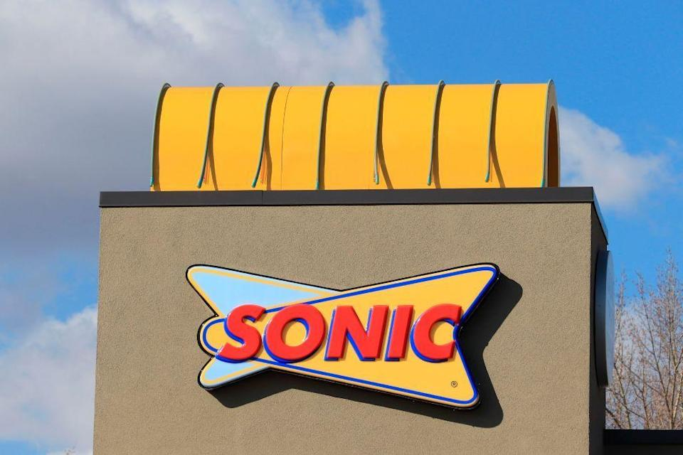 "<p>If you're craving a cherry limeade on the way to Grandma's house, you're in luck. <a href=""https://www.sonicdrivein.com/"" rel=""nofollow noopener"" target=""_blank"" data-ylk=""slk:Sonic Drive-In"" class=""link rapid-noclick-resp"">Sonic Drive-In</a> restaurants are locally owned, so hours vary, but many are open on Thanksgiving Day.</p>"
