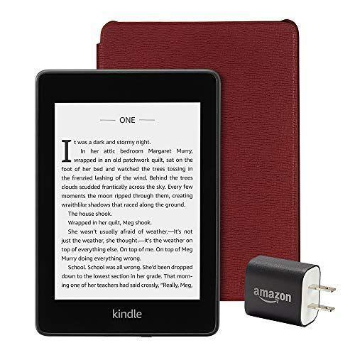 """<p><strong>Amazon</strong></p><p>amazon.com</p><p><strong>$169.97</strong></p><p><a href=""""https://www.amazon.com/dp/B07HL49FCK?tag=syn-yahoo-20&ascsubtag=%5Bartid%7C2140.g.36396444%5Bsrc%7Cyahoo-us"""" rel=""""nofollow noopener"""" target=""""_blank"""" data-ylk=""""slk:Shop Now"""" class=""""link rapid-noclick-resp"""">Shop Now</a></p><p>Just in time for beach season, this Kindle bundle is a carry-on essential. For $20 off right now, it even comes with a sleek leather case and power adapter—it's a beach weekend essential. </p>"""