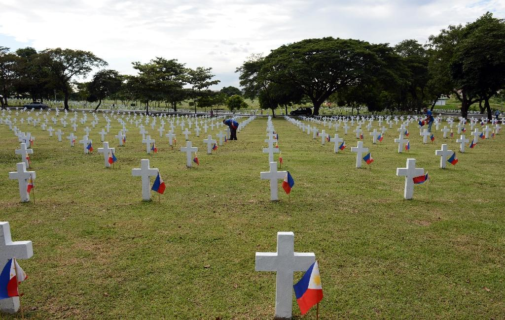 The Heroes' Cemetery in Manila is reserved for the Philippines' most revered war heroes (AFP Photo/Ted Aljibe)