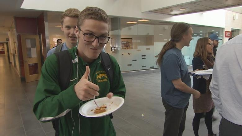 Math lovers have their pi and eat it too at U of Regina event