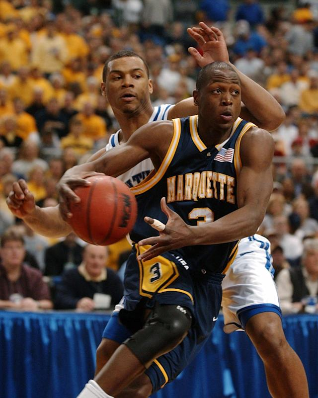 <p>29 points, 11 rebounds, 11 assists vs. Kentucky, Midwest Regional final, March 29, 2003. </p>