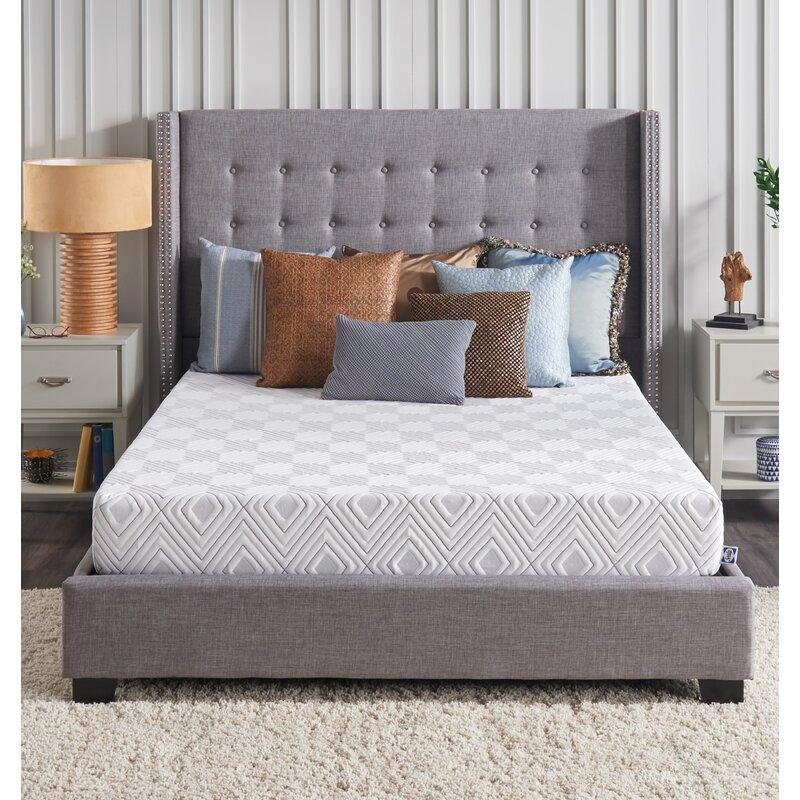 "Sealy 8"" Medium Memory Foam Mattress in a Box (Photo: Wayfair)"