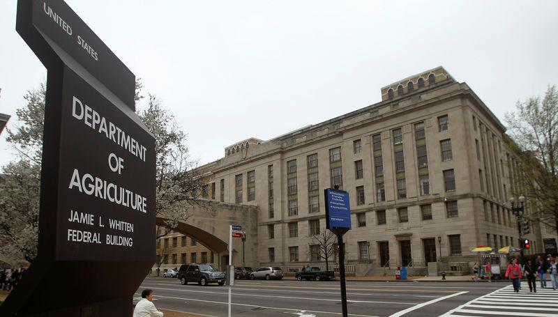 FILE PHOTO: The U.S. Department of Agriculture in Washington