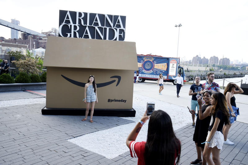 BROOKLYN, NY - JULY 11: Guests attend the Amazon Music Unboxing Prime Day event on July 11, 2018 in Brooklyn, New York. (Photo by Kevin Mazur/Getty Images for Amazon)