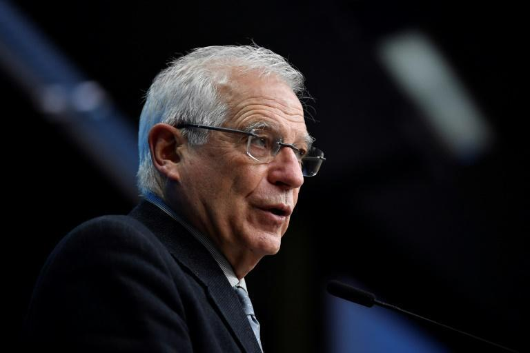 European Union foreign policy chief Josep Borrell insists he will deliver 'clear messages' to the Kremlin
