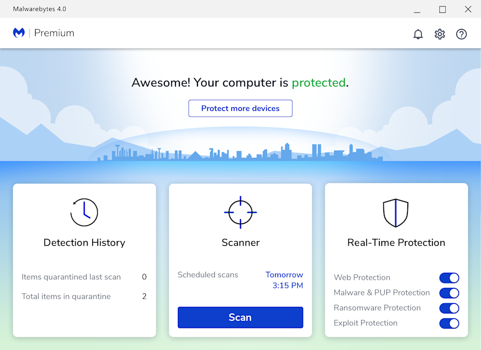 Malwarebytes Premium gives you peace of mind. (Photo: Malwarebytes)