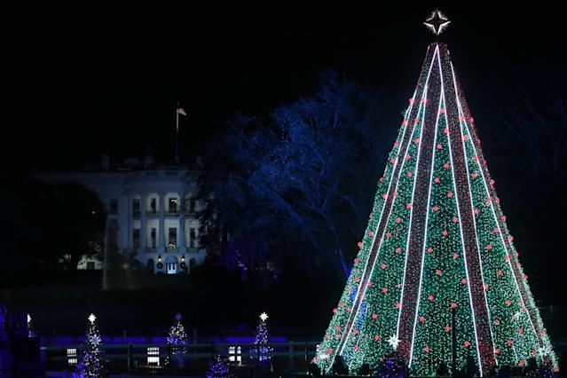 National Christmas Tree Relit in Time for Christmas After Last-Minute Funding
