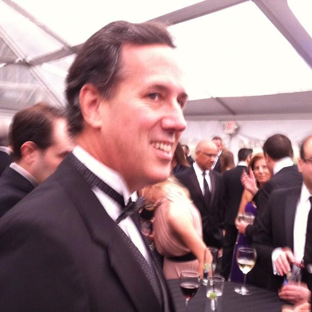 Rick Santorum crashed our party #WHCD