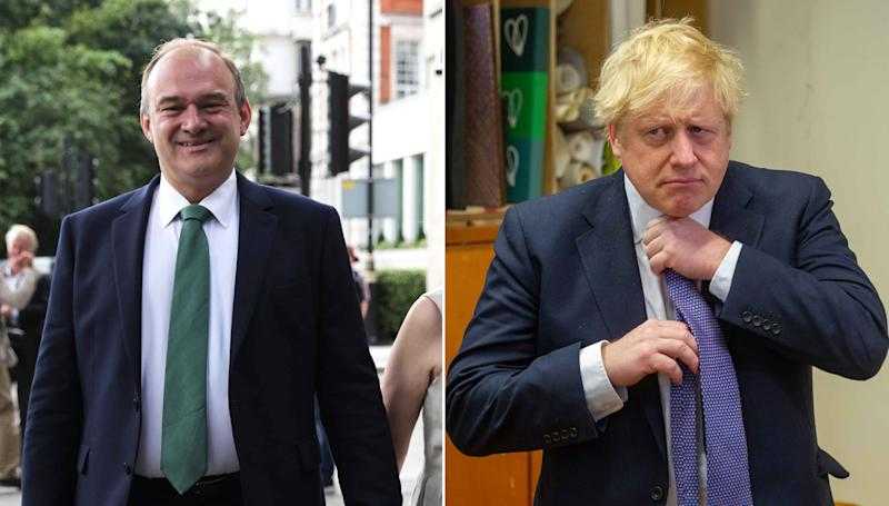 Ed Davey has called on Boris Johnson to pause post-Brexit talks to fight coronavirus. (PA Images)