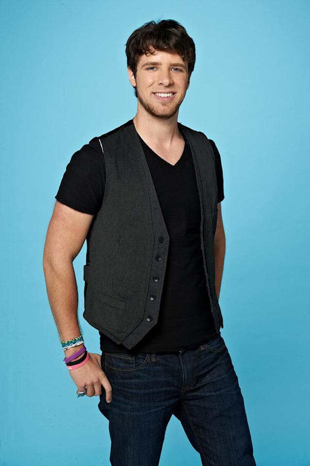 "Tim Halperin, 23, from Omaha, NE competes on the tenth season of ""American Idol."""
