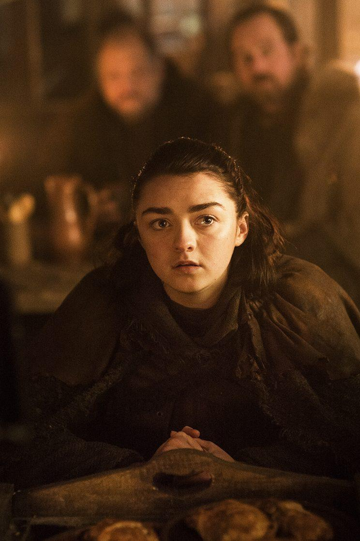 Maisie Williams as Arya Stark in HBO's Game of Thrones . (Photo Credit: HBO)