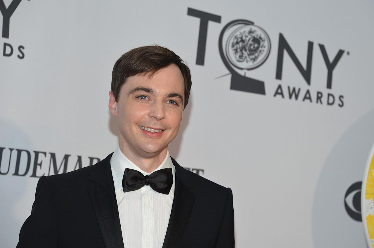 NEW YORK, NY - JUNE 10: Jim Parsons attends the 66th Annual Tony Awards at The Beacon Theatre on June 10, 2012 in New York City.  (Photo by Mike Coppola/Getty Images)